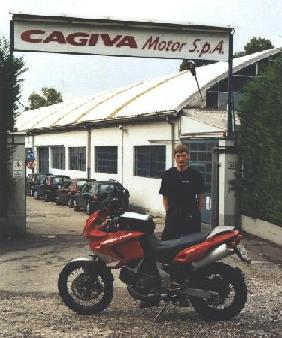 Cagiva motorcycle